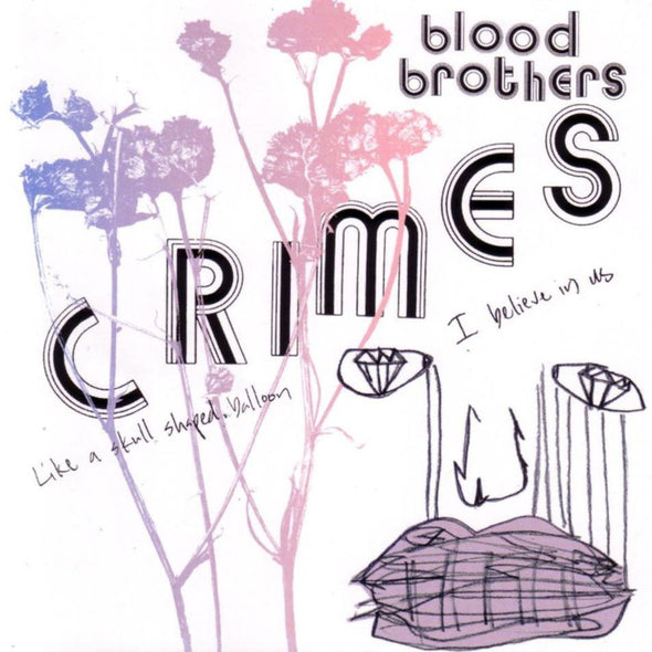 The Blood Brothers - Crimes<br>Vinyl LP - Monkey Boy Records