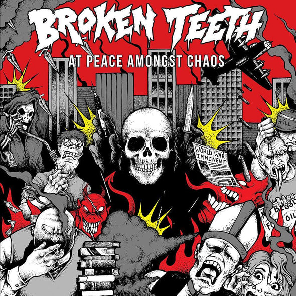 "Broken Teeth - At Peace Amongst Chaos<br>12"" Vinyl"