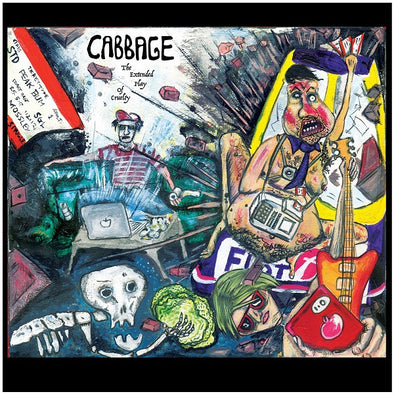 "Cabbage - Extended Play Of Cruelty<br>10"" Vinyl"