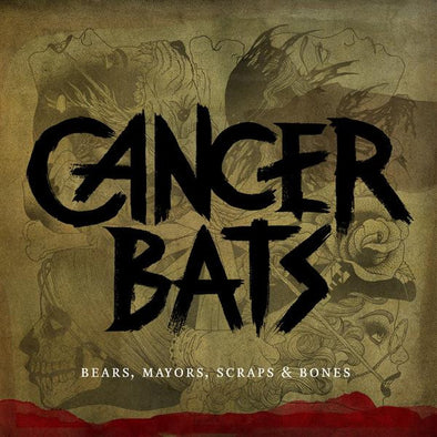 Cancer Bats - Bears, Mayors, Scraps & Bones<br>Vinyl LP