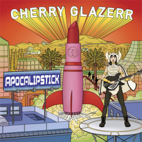Cherry Glazerr - Apocalipstick<br>Vinyl LP - Monkey Boy Records