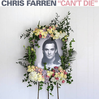 Chris Farren - Can't Die<br>Vinyl LP - Monkey Boy Records
