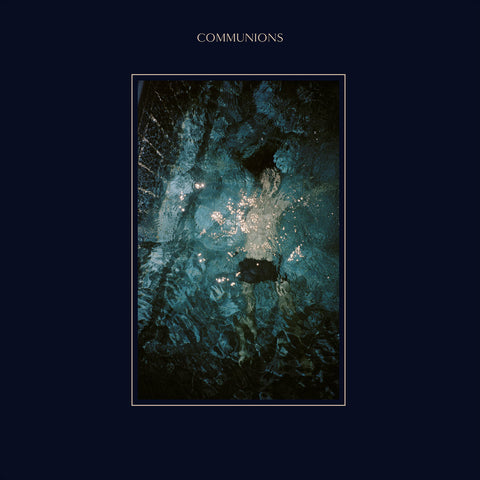 Communions - Blue<br>Vinyl LP - Monkey Boy Records