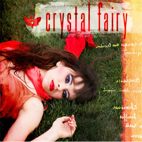 Crystal Fairy - Crystal Fairy<br>Vinyl LP - Monkey Boy Records