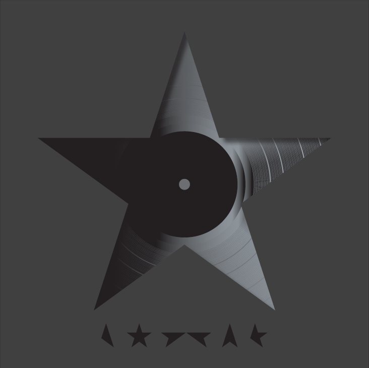 David Bowie - ★ (Blackstar)<br>Vinyl LP - Monkey Boy Records