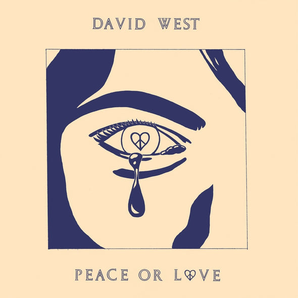 David West - Peace or Love<br>Vinyl LP - Monkey Boy Records - 1
