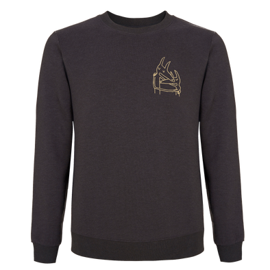 Twin Fantasy Embroidered Crewneck