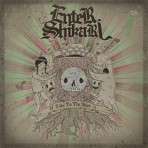 Enter Shikari - Take To The Skies<br>Vinyl LP - Monkey Boy Records