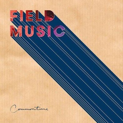 "Field Music - Commontime<br>12"" Vinyl - Monkey Boy Records"