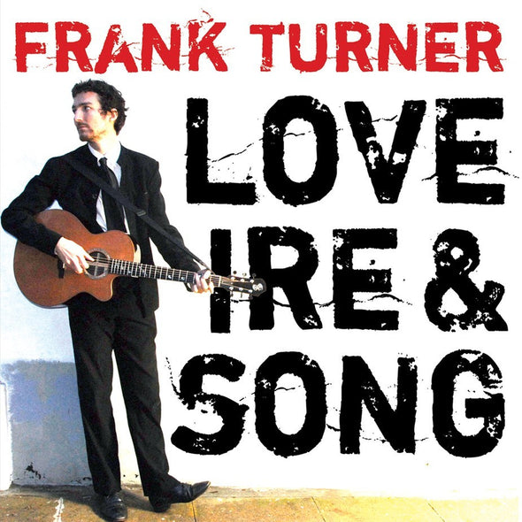 Frank Turner - Love Ire & Song<br>Vinyl LP - Monkey Boy Records