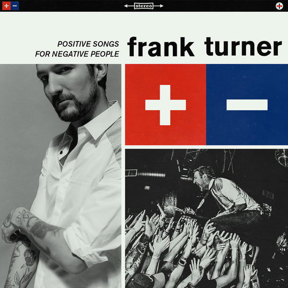 Frank Turner - Positive Songs For Negative People<br>Vinyl LP - Monkey Boy Records