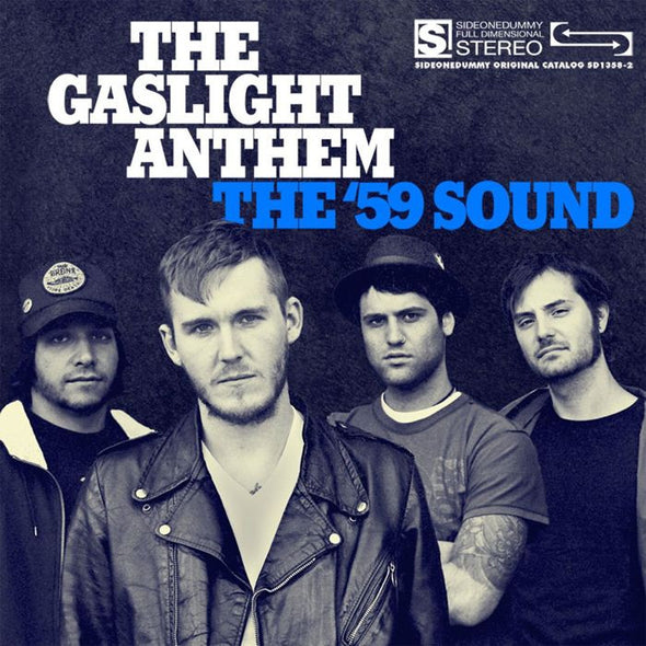 "The Gaslight Anthem - 59 Sound<br>12"" Vinyl - Monkey Boy Records"