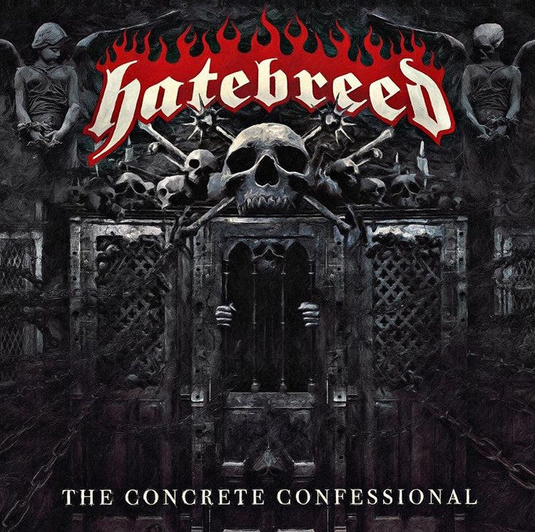 "Hatebreed - The Concrete Confessional<br>12"" Vinyl - Monkey Boy Records"