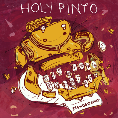 "Holy Pinto - Stenography<br>7"" Vinyl"