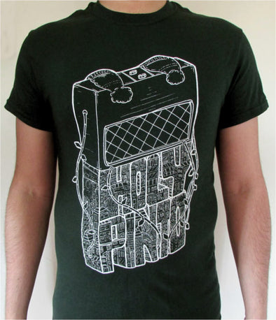 Green 'Vox-boy' T-Shirt
