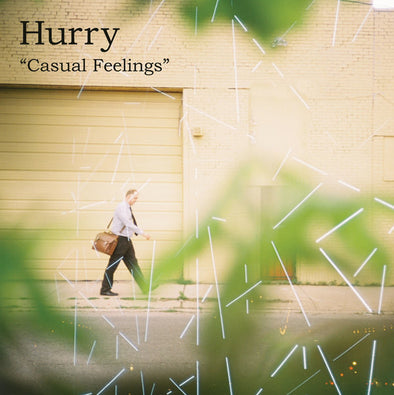 "Hurry - Casual Feelings<br>7"" Vinyl - Monkey Boy Records"