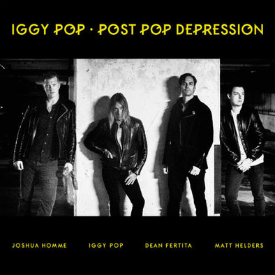 Iggy Pop - Post Pop Depression<br>Vinyl LP