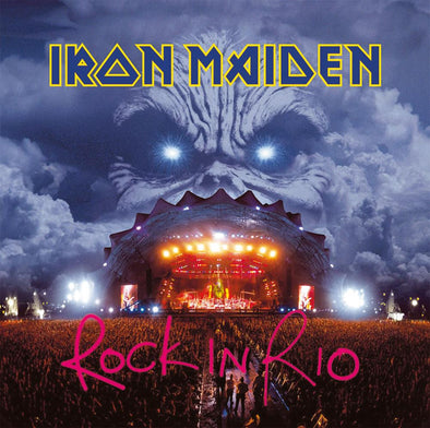 Iron Maiden - Rock In Rio<br>Vinyl LP