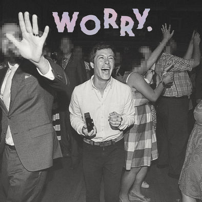Jeff Rosenstock - Worry<br>Vinyl LP - Monkey Boy Records