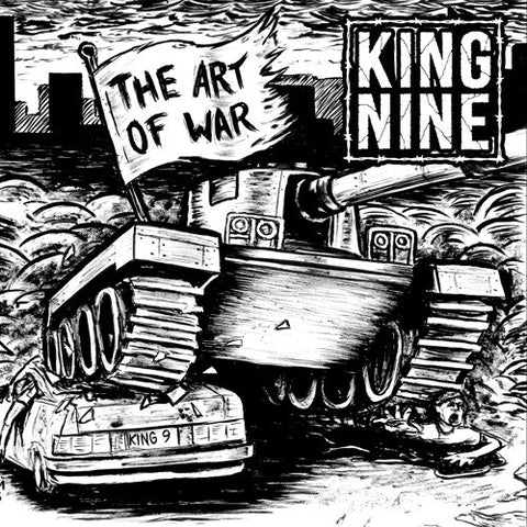 "King Nine - The Art Of War<br>7"" Vinyl - Monkey Boy Records"