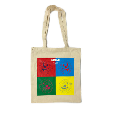 Lame-O Records 'Moon Man' Tote Bag