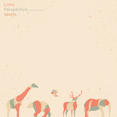 "Lions / Perspective, a lovely hand to hold / sports 3 Way Split<br>12"" Vinyl"