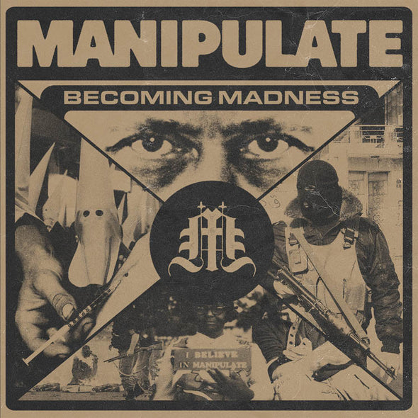 "Manipulate - Becoming Madness<br>7"" Vinyl - Elsewhere"