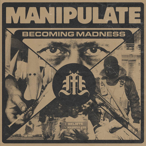 "Manipulate - Becoming Madness<br>7"" Vinyl - Monkey Boy Records"