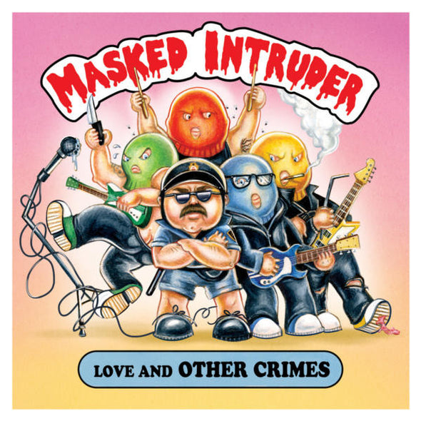 "Masked Intruder - Love And Other Crimes EP<br>12"" Vinyl - Monkey Boy Records - 1"