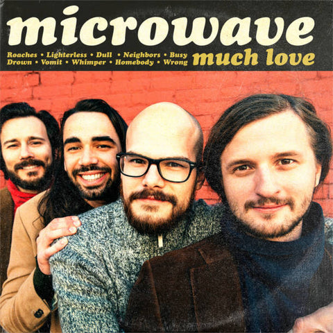 Microwave - Much Love<br>Vinyl LP - Monkey Boy Records