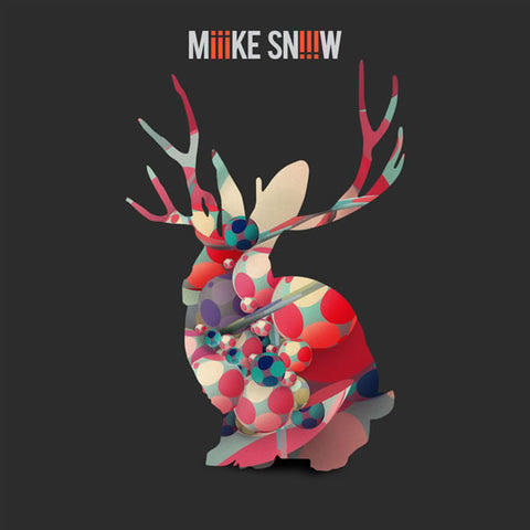 "Miike Snow - iii<br>12"" Vinyl - Monkey Boy Records"