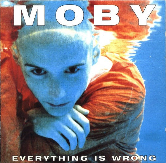 Moby - Everything Is Wrong<br>Vinyl LP