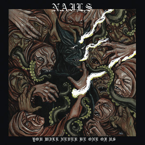 Nails - You Will Never Be One Of Us<br>Vinyl LP - Monkey Boy Records