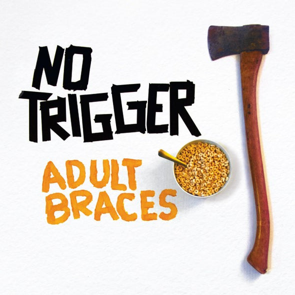 "No Trigger - Adult Braces<br>12"" Vinyl"