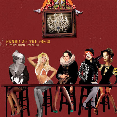 Panic! At The Disco - A Fever You Can't Sweat Out<br>Vinyl LP - Monkey Boy Records