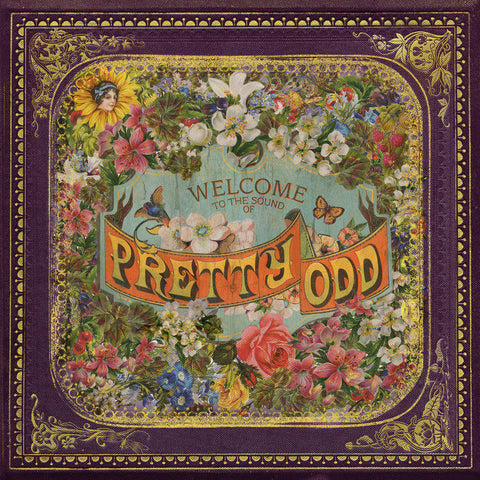 Panic! At The Disco - Pretty. Odd.<br>Vinyl LP - Monkey Boy Records
