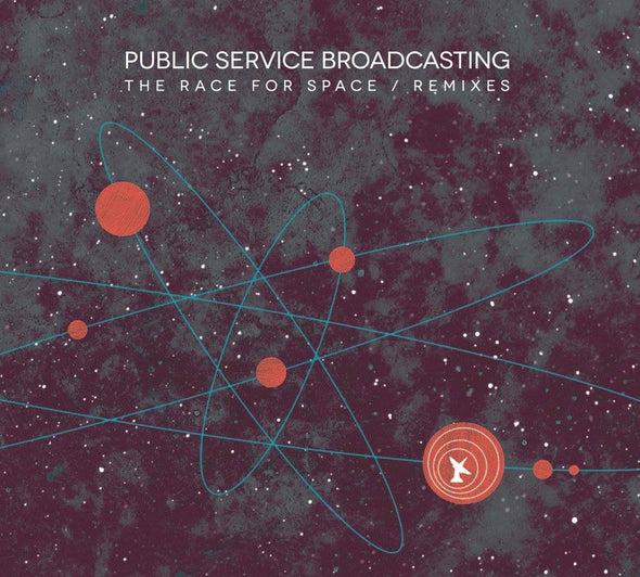 "Public Service Broadcasting - The Race For Space / Remixes<br>12"" Vinyl"