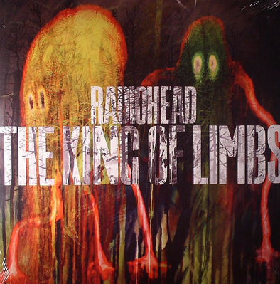 Radiohead - The King Of Limbs<br>Vinyl LP - Monkey Boy Records