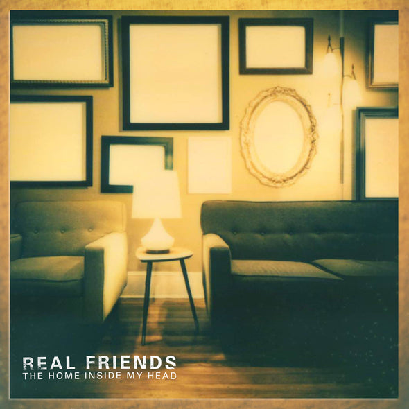 "Real Friends - The Home Inside My Head<br>12"" Vinyl"