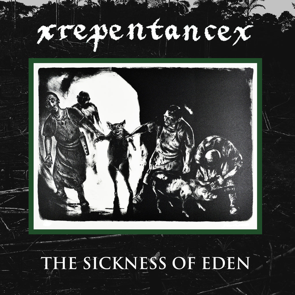 "Repentance - The Sickness Of Eden<br>12"" Vinyl - Monkey Boy Records - 1"