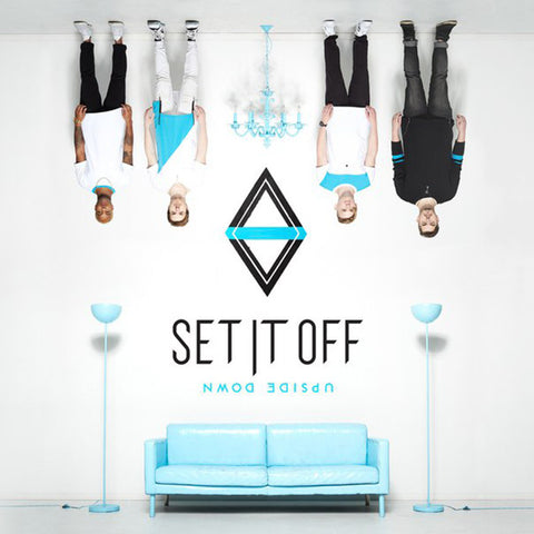 Set It Off - Upside Down<br>Vinyl LP - Monkey Boy Records