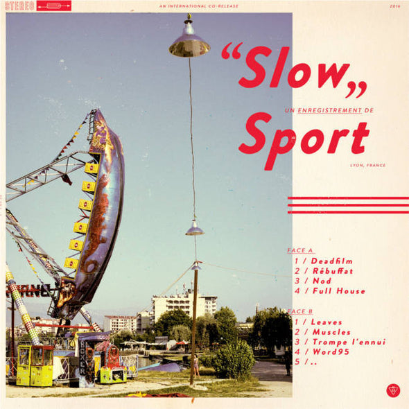 Sport - Slow<br>Vinyl LP - Monkey Boy Records