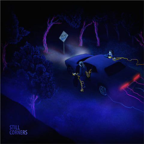 Still Corners - Dead Blue<br>Vinyl LP - Monkey Boy Records