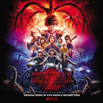 Stranger Things 2 OST by Kyle Dixon & Michael Stein<br>Vinyl LP