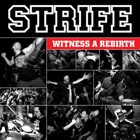 Strife - Witness A Rebirth - Monkey Boy Records