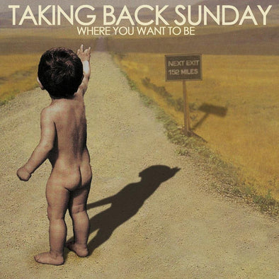 "Taking Back Sunday - Where You Want To Be<br>12"" Vinyl"