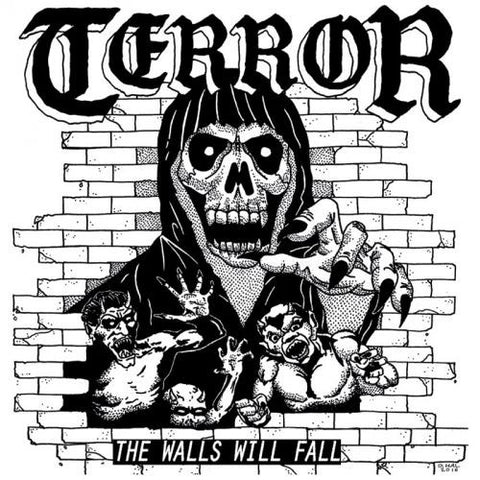 "Terror - The Walls Will Fall<br>7"" Vinyl"
