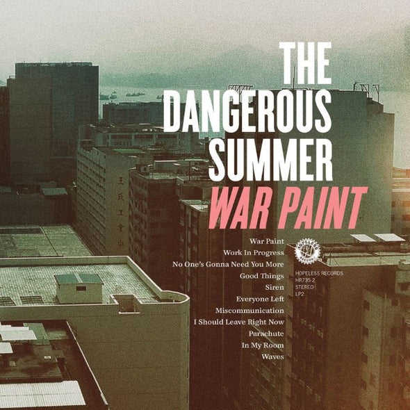 The Dangerous Summer - War Paint<br>Vinyl LP