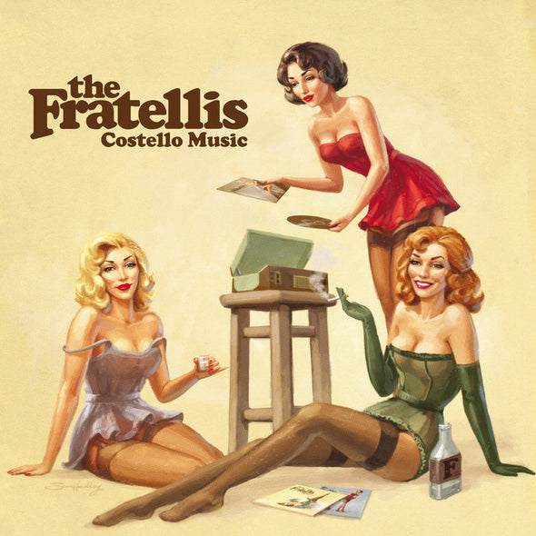 "The Fratellis - Costello Music<br>12"" Vinyl"
