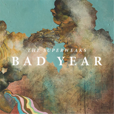 The Superweaks - Bad Year<br>Vinyl LP - Monkey Boy Records